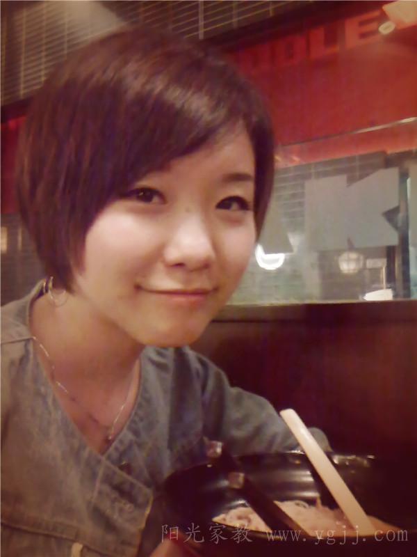 短发之后的生活照;; 上海;