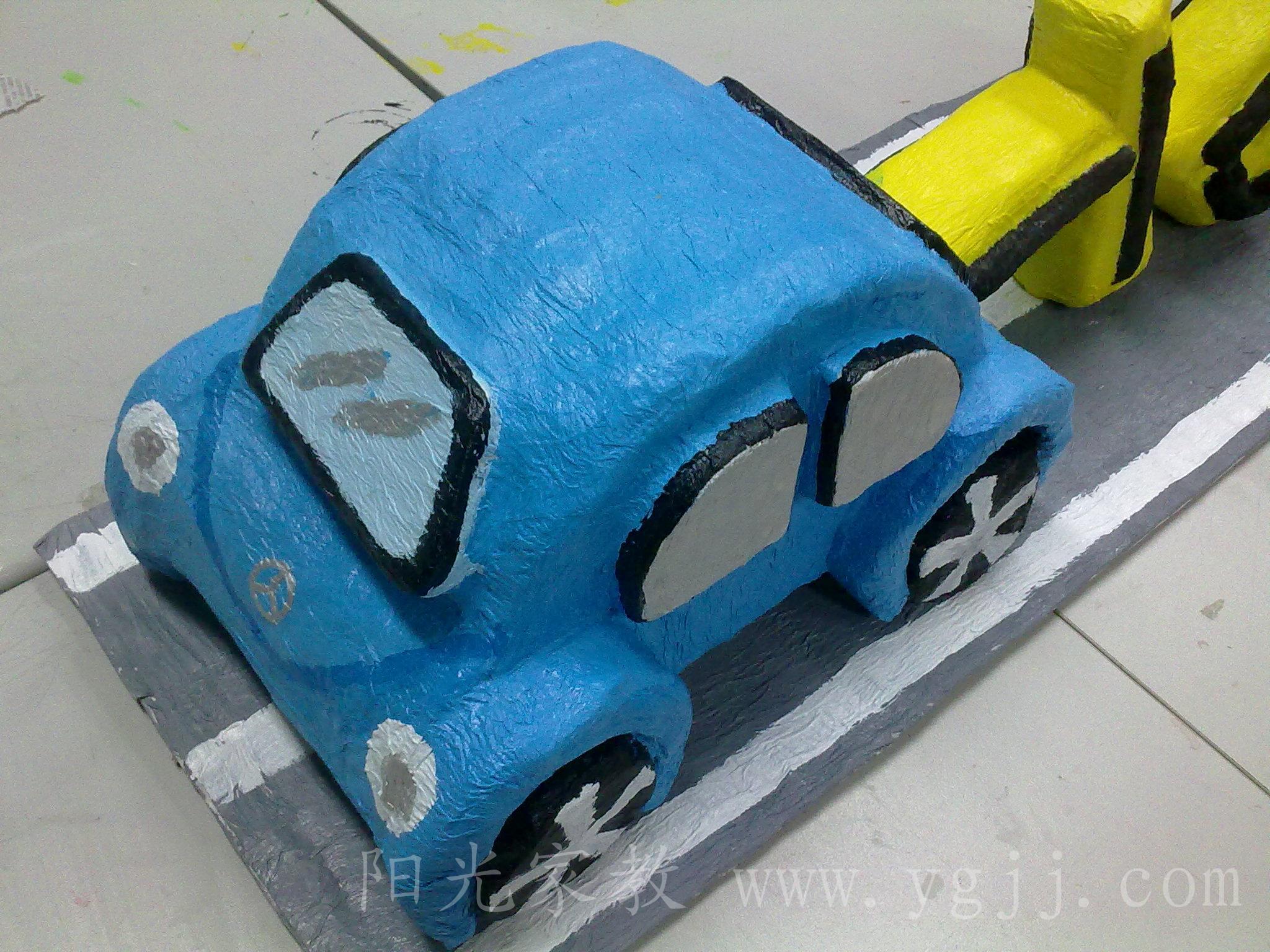 纯手工制作——小车